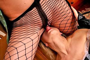 A Lesbian Pantyhose Porn Arrest